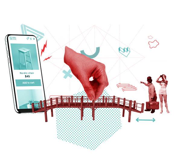 Få kunder starta webshop