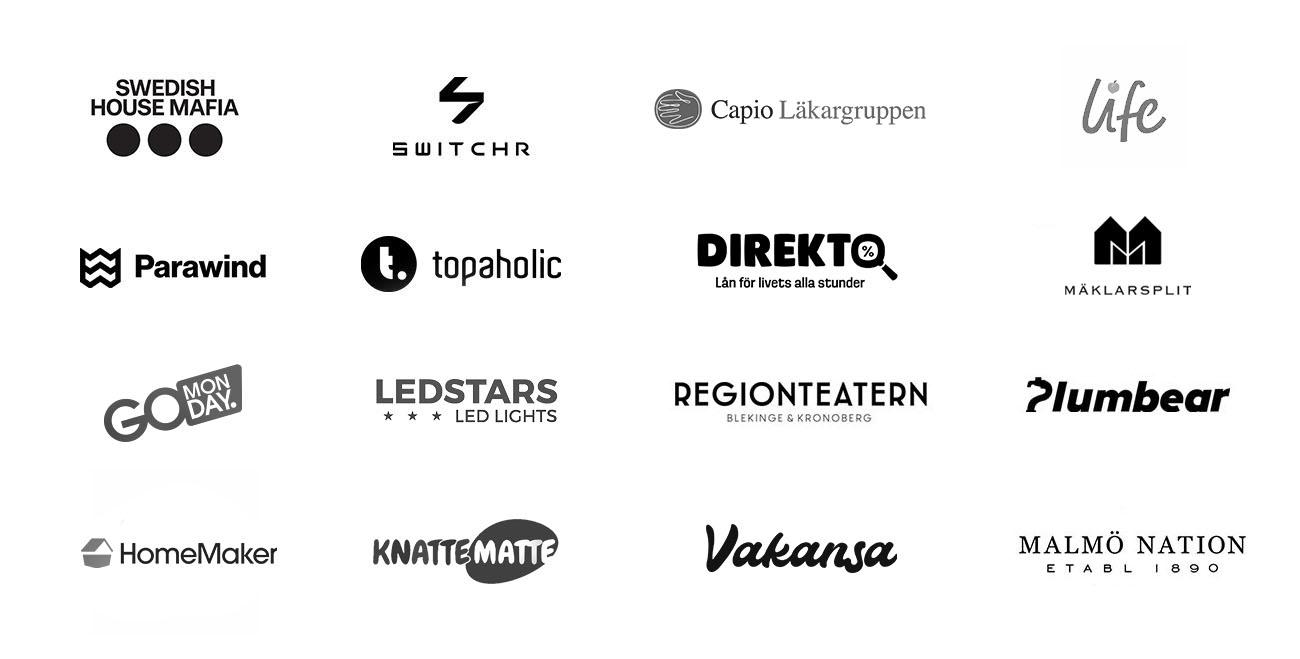 dreamify digital byra stockholm kunder