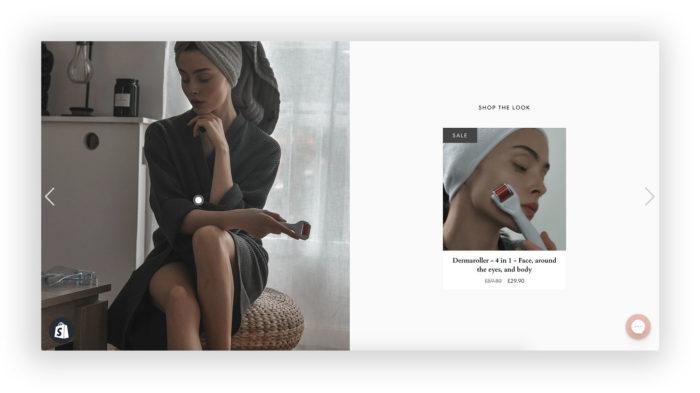 webbshop skönhet