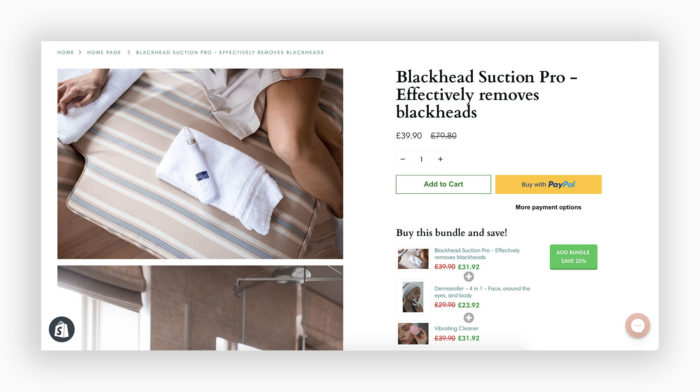 webshop skönhetsprodukter