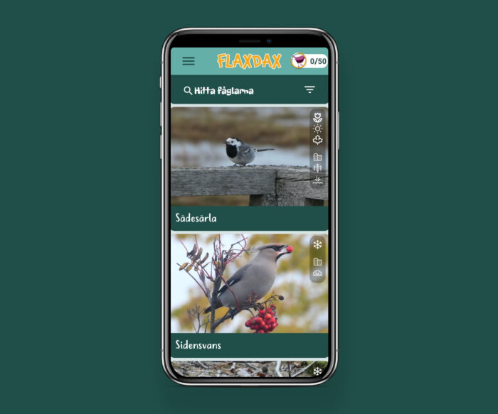 Bird watching app android ios hybrid