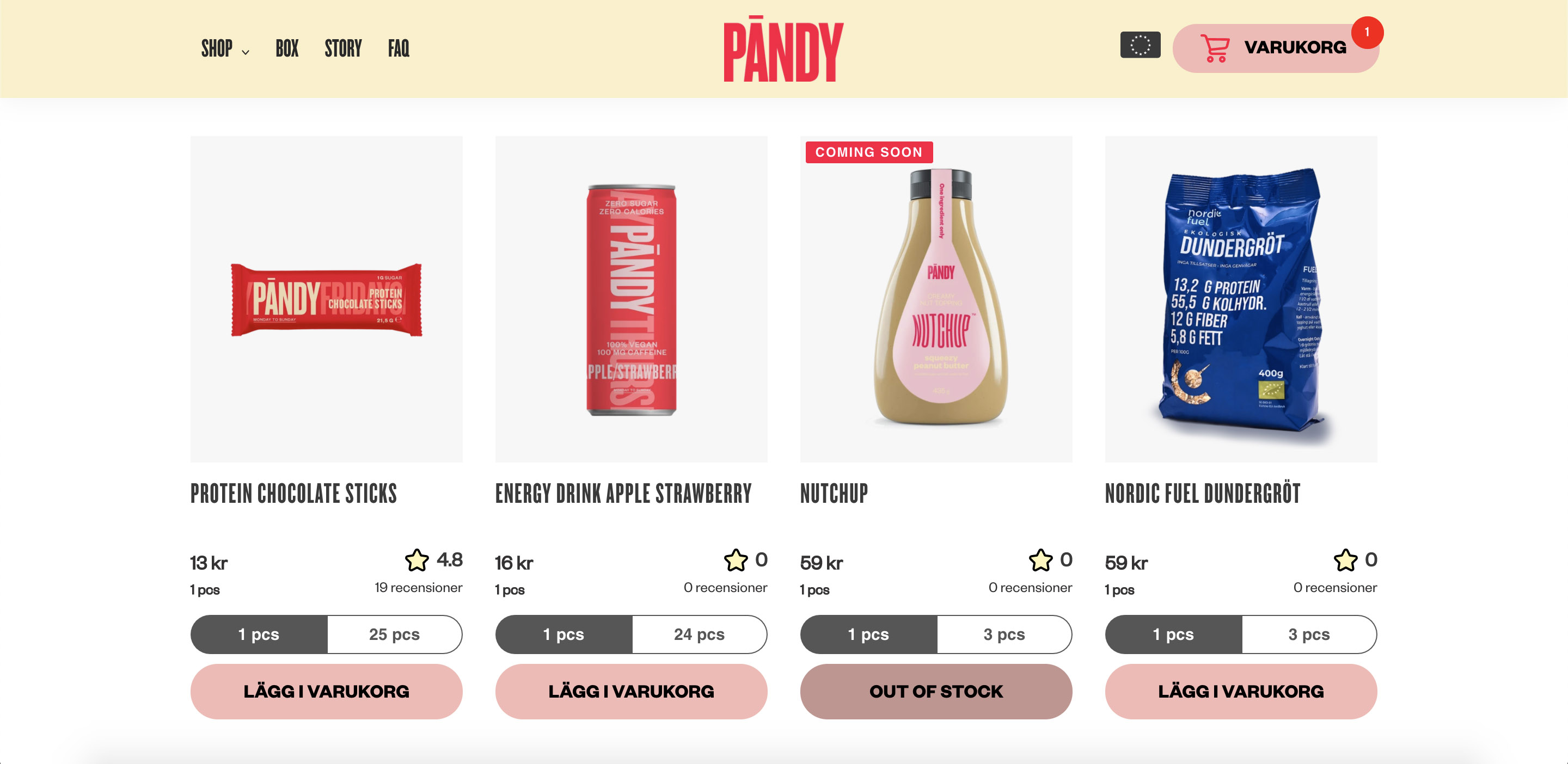 pandy candy snacks