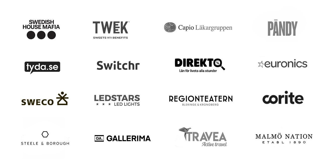 dreamify digital byrå kunder stockholm
