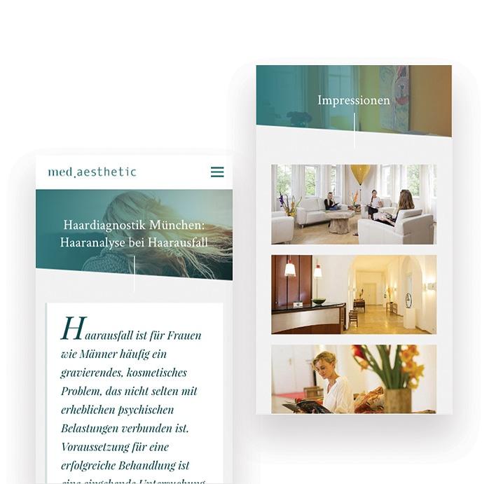 clinic website design
