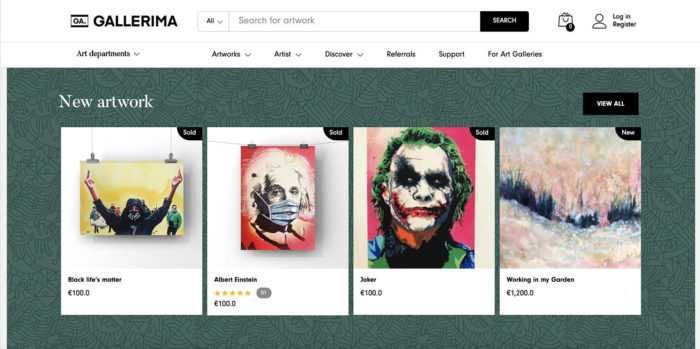 Art marketplace WooCommerce