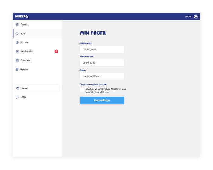 mortgage loan platform design