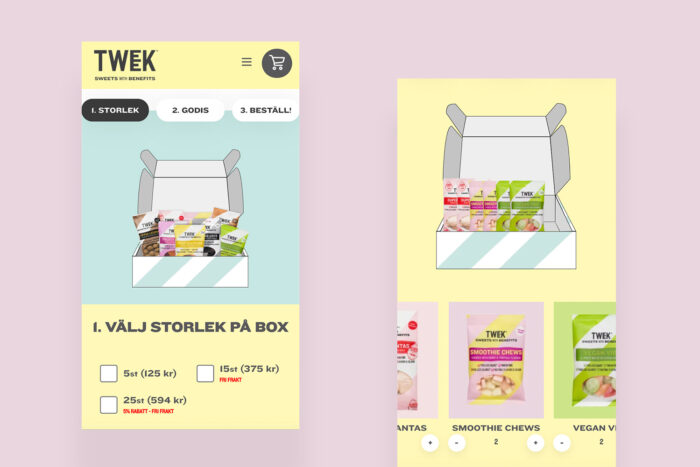 candy webshop e commerce